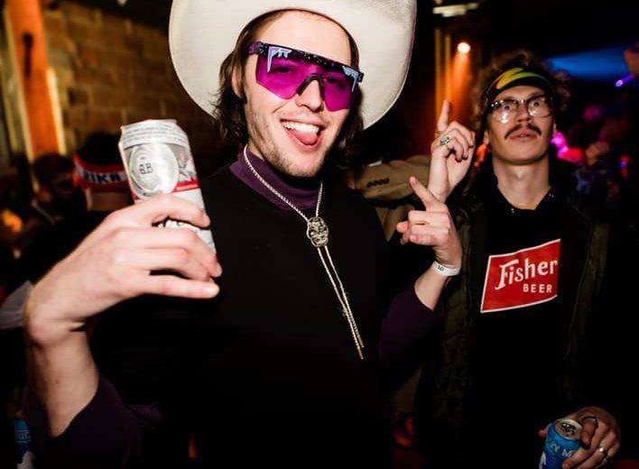 purple pit viper sunglasses